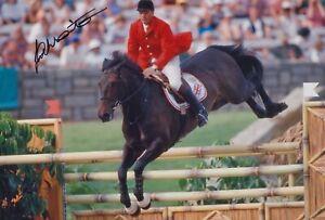 JOHN WHITAKER HAND SIGNED 12X8 PHOTO OLYMPICS AUTOGRAPH LOS ANGELES 1984 4
