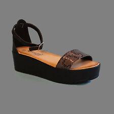 Markenlose Damen-Sandalen & -Badeschuhe mit hohem Absatz (5-8 cm) aus Kunstleder