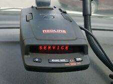 Escort INTL RedLine passport radar detector RUSSIA version technically defective