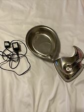 New listing Pioneer Pet Raindrop Stainless Steel Water Fountain