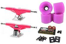 """Gullwing ProIii 9"""" 155mm Pink Trucks + Blank Pro 60mm Purple Wheels"""