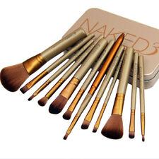 Professional 12 Pcs Makeup Brush Set Eyeshadow Eyebrow Powder Cosmetics Brushes