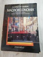 Macroeconomia di N.Gregory Mankiw editore Zanichelli
