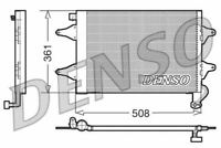 Denso Air Conditionné Condenseur Pour Seat Cordoba Berline 1.4