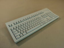 Macally Deluxe Computer Keyboard PS2 Light Gray PS/2 Coil Cord MK-105