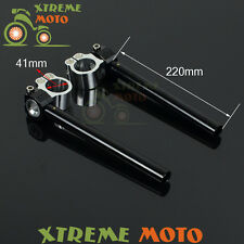 41mm Adjustable Handlebar Handle Bar ClipOns YZF600 XVS650 FZR750 FZR1000 FJ1200