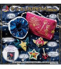 BANDAI Sailor Moon Capsule Goods Deluxe Set of 6 From Japan Sailor Stars
