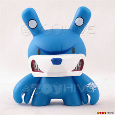 Kidrobot Dunny 2009 Endangered series vinyl figure Blue Bear by Touma