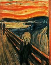 'L''urlo quadro - Stampa d''arte su tela telaio in legno'
