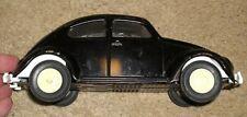 "Vintage Tonka VW Beetle Black Bug 60s 52680 8.5"" FREE SHIPPING"