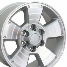 17x7.5 Wheel Fits Toyota 4Runner Style Silver Machd Face  69429 Rim W1X