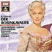 Strauss - Der Rosenkavalier, Soloists, Karajan Strauss, R, Very Good