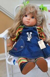 GOTZ retired Baby Girl Toddler 18 1/2 Vinyl/cloth Trixie 76/130