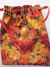 Autumn,Tarot Runes Crystals Angel Bag Pagan Wiccan