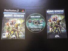 MARVEL NEMESIS L'Avènement des Imparfaits : JEU Sony PLAYSTATION 2 PS2 (COMPLET)