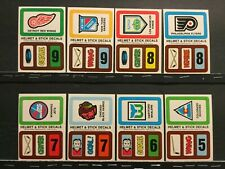 1979-80 Topps Hockey Insert Stickers Lot of 18 Different (of 22) Sku12J