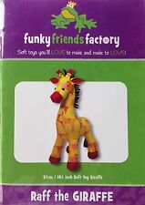 Raff Giraffe Softie Toy Cute Boys Girl - Sewing PATTERN Funky Friends Factory
