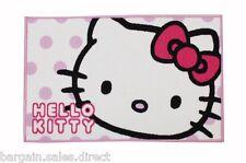 HELLO KITTY GIRLS BEDROOM CANDY SPOTS FLOOR RUG