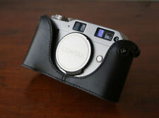 Mr. Zhou black Leather Half Case for Contax G1