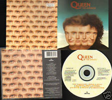 QUEEN THE MIRACLE Parlophone 1989 CD NEW Invisible Man