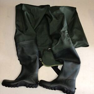 Frogg Toggs Cascades 2-ply Poly/Rubber Bootfoot Chest Wader /Cleated Outsole V42