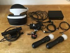 Sony PlayStation 4 PS4 VR Headset PSVR V1 CUH-ZVR1 - Fully Working Bundle