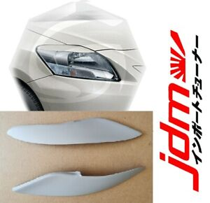 For Toyota Yaris Belta Sedan Eyebrows Eyelids Headlight Cover 4 Door 2005-2012