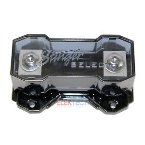 Stinger Select SSFANL Fuse Holder 1/0 or 4 Gauge ANL Car Stereo Amp