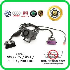 VW | AUDI | SKODA | SEAT DUMMY FAKE OBD PORT Anti Theft Security OBD2 Guard LOCK