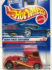 HOT WHEELS *SEMI-FAST TRUCK* 1999 FIRST EDITIONS #914 RED VARIATION