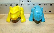 Vintage 1996 Arby's Lot of 2 Jungle Zoids Transformer Action Figure Kids Toy