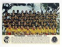 1974 WFL The Hawaiians Team Photo Picture Color 8 X 10 Photo Picture