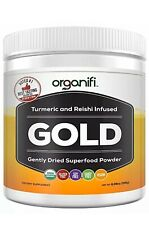 Organifi: Gold - Superfood Supplement Powder Sleep Deep Immune Booster 30 Days