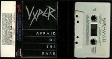 Vyper Afraid Of The Dark USA Cassette Tape bonus track