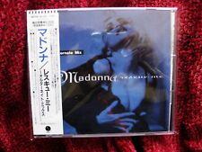 Madonna RARE RESCUE ME Japan CD & PROMO OBI INSERT 1st Ed. Justify My Love Sex