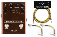 New Fender Acoustic Preverb Preamp/Reverb Acoustic Guitar Effects Pedal
