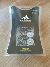 Adidas Rugby Aluminium Studs 12 x 15mm, 4 x 21mm Brand New in Box Crampons