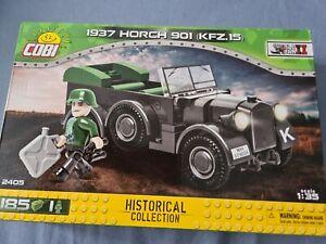 Cobi 2405 Historical Collection 1937 Horch 901 (KFZ.15) 1:35 Model Car 185pcs