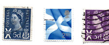 GB SCOTLAND; LOT OF 3 STAMPS USED.*S