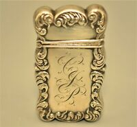 Antique Original Tiffany & Co Sterling Silver Striking Match Safe Vesta Case Box