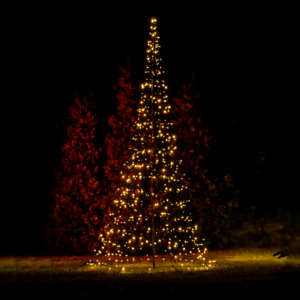 LED Tannenbaum mit 640 LEDs warmweiß • Höhe 4 m