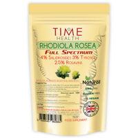 Rhodiola Rosea Capsules Extract 4% Salidrosides 3% Tyrosol 2.5% Rosavins
