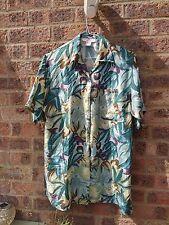 Ladies Vintage hawaiian silk shirt by Stint Petit