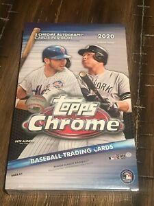 2020 Topps Chrome Hobby Box Live Break – New York Yankees