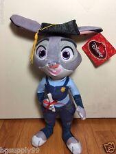 "Graduation Disney Movie Zootopia Officer JUDY HOPPS 15"" Plush"