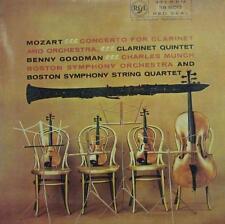 Mozart(Vinyl LP)Concerto For Clarinet-RCA Victor/Red Seal-RB 16013-UK-VG+/VG