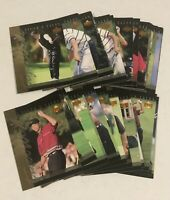 2001 Upper Deck Tiger Woods Tiger Tales Complete 30 Insert Rookie RC Card Set