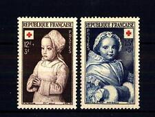 FRANCE - FRANCIA - 1951 - Pro Croce Rossa. Dipinti