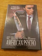 """American Psycho"" (Thriller) Dvd Movie (Christian Bale), New Sealed"