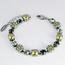 Grevenkämper Armband Swarovski Kristall Pavé Swarovski Perlen grün Grün Mix